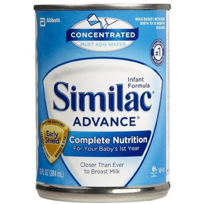 SIMILAC ADVANCE concentrated 13 oz liq. can - Case of 12