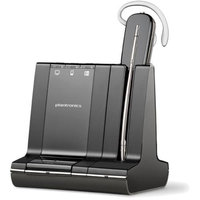 Plantronics Savi W745 DECT 6.0 Noise-Canceling Wireless Headset