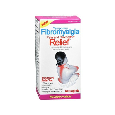 The Relief Products Fibromyalgia Relief Homeopathic Medicine and Dietary Supplement Caplets