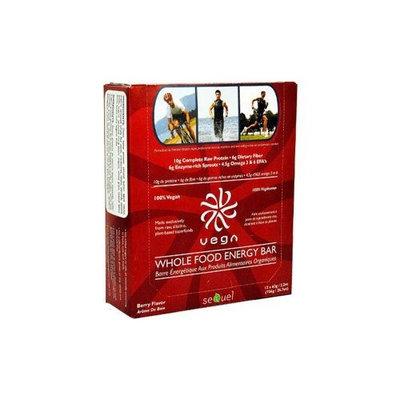 Sequel Naturals - Vega Whole Food Energy Bar - Berry Box of 12
