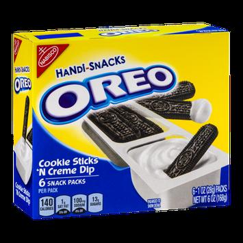 Oreo Handi-Snacks Packs Cookie Sticks 'N Creme Dip
