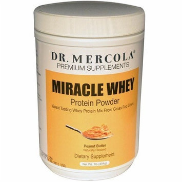 Dr. Mercola: Miracle Whey Peanut Butter Protein Powder 1 lb