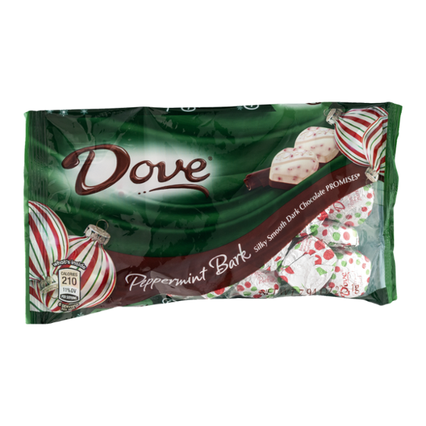 Dove Chocolate Peppermint Bark Chocolate Promises