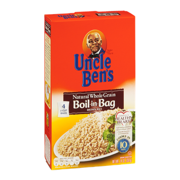 Uncle Ben's Natural Whole Grain Boil-in-Bag Brown Rice