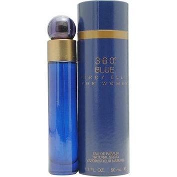 Perry Ellis 360 Blue By Perry Ellis For Women. Eau De Parfum Spray 1.7 Ounces