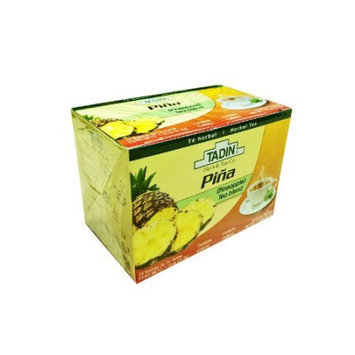 Tadin PINEAPPLE DIET DETOX TEA PINA TE - BLEND OF GREEN WHITE LEMMONGRASS TEA WITH AMAZING FLAVOR
