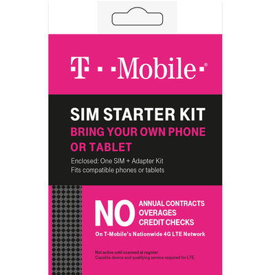 T-mobile - Complete Sim Starter Kit