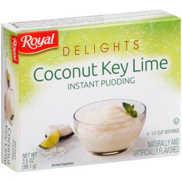 Jel Sert ROYAL DELIGHTS COCONUT KEY LIME PUDDING 12/3.5 OZ