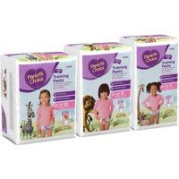 Parents Choice Parent's Choice Girls' Training Pants, Jumbo Pack (Choose Your Size)