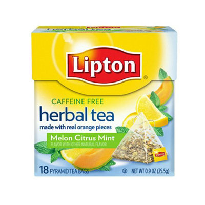 Lipton® Herbal Pyramid Tea Bags Melon Citrus Mint