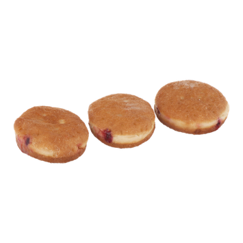 Palermo Bakery Jelly Filled Bismarks Sugar Coated - 3 CT