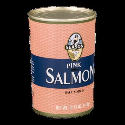 Season Brand Pink Salmon with Salt Added