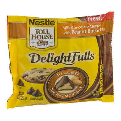 Nestlé® Toll House® DelightFulls Milk Chocolate Morsels With Peanut Butter