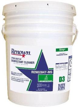 Renown Citrus Quat 64 Disinfectant Cleaner 5Gl/Pl