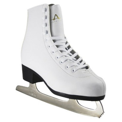 American Athletic Shoe Co Ladies American Leather Lined Figure Skate - White (5)