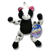 Aspen Products PETMATE 291145 Stretchies Cow Toy, Small