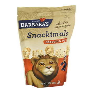 Barbara's Snackimals Animal Cookies Chocolate Chip
