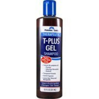 Therapeutic T+Plus Gel Shampoo - Fights Itchy Flaky Scalp, 8.5 oz,(Personal Care)