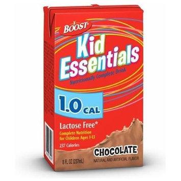 Nestlé BOOST Kid Essentials -Chocolate 8 fl Box Case: 27