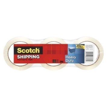 3M Company Scotch Packaging Tape 3-pk. 48mm X 35m