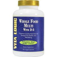 Vita Logic Whole Food Multi w/D3 VitaLogic 90 Caps