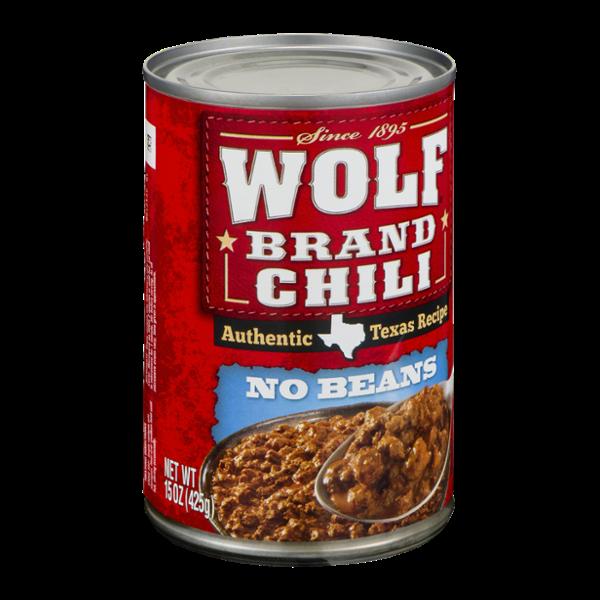 Wolf Brand Chili No Beans