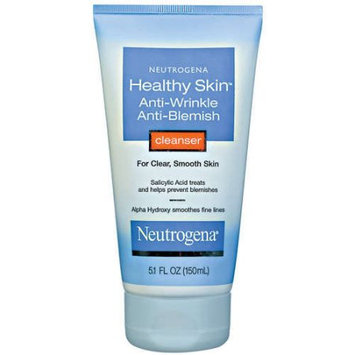 Neutrogena® Healthy Skin Anti-Wrinkle Anti-Blemish Cleanser