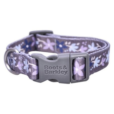 Boots & Barkley Floral Fashion Collar XS - Brown