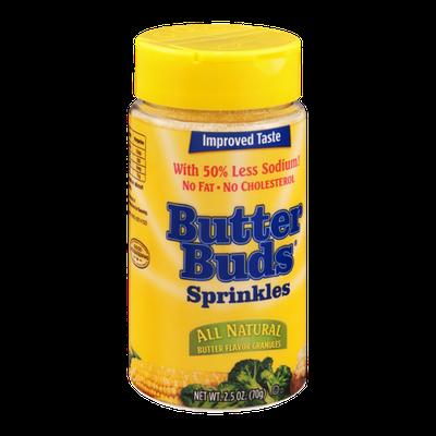 Butter Buds Sprinkles All Natural Butter Flavor Granules