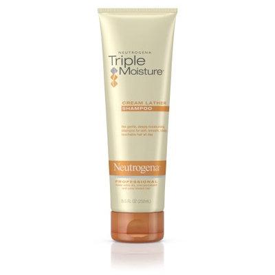Neutrogena® Triple Moisture Cream Lather Shampoo