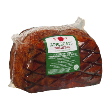 Applegate Naturals Virginia Brand Ham Glazed Uncured