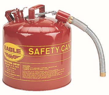EAGLE U2-51-SY Type II Safety Can, Yellow, 15-7/8 In. H