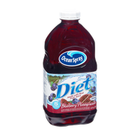 Ocean Spray Diet Blueberry Pomegranate Fruit Juice