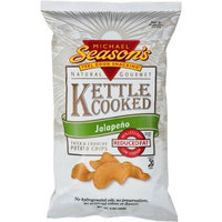 Michael Season's Kettle Cooked Jalapeno Potato Chips, 5 Ounce Bags (Pack of 12)