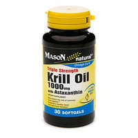 Mason Natural Triple Strength Krill Oil 1000mg with Astaxanthin