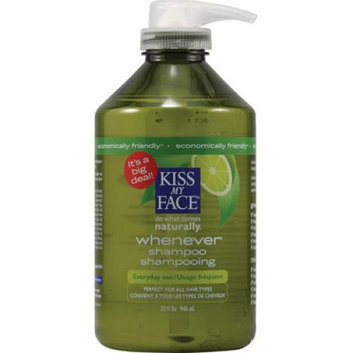Kiss My Face Corp. Kiss My Face Whenever Shampoo Green Tea and Lime 32 fl oz