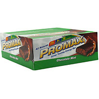 Promax Chocolate Mint Energy Bars