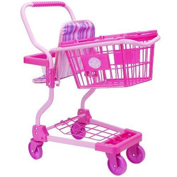 Rj Quality Products Just Like Home Metal Shopping Cart