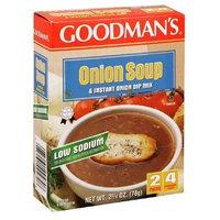 Goodman Soup/Dip Mix Onion Low-Salt 2.75 oz. (Pack of 24)