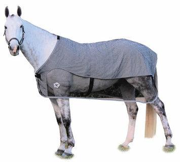 Jpc Equestrian TuffRider Quilted Scrim Sheet 84 Black