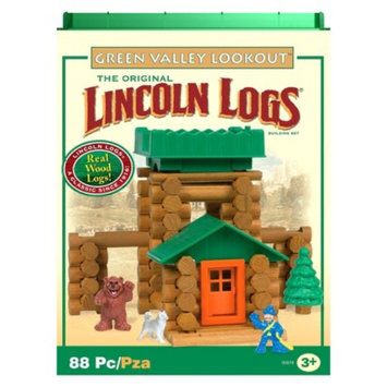 K'nex Lincoln Logs Green Valley Lookout