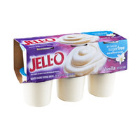 Jell-O 60 Calorie Sugarfree Vanilla Pudding Snacks - 6 CT