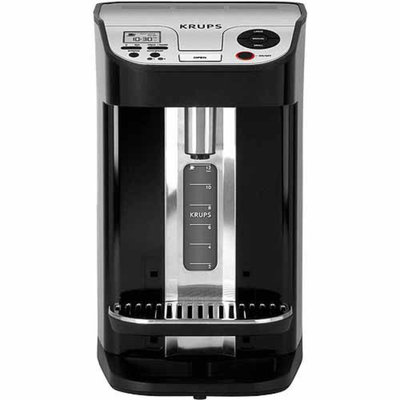 Krups KRUPS 12-Cup Cup-on-Request Programmable Coffeemaker with Precise Warming Technology, Black