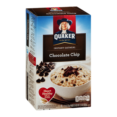 Quaker® Instant Oatmeal Chocolate Chip