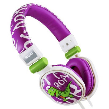 Moki ACCHPPOA Popper Over-the-Ear Headphones - Purple (4MOK00556)