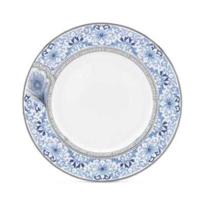 Marchesa By Lenox Marchesa by Lenox Dinnerware, Sapphire Plume Dinner Plate