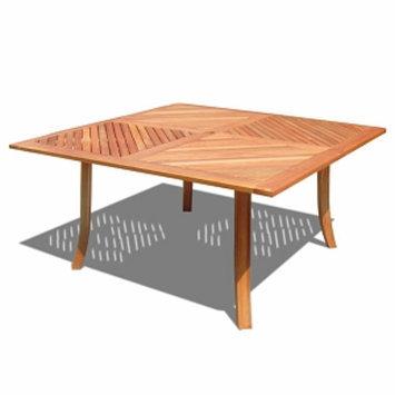 VIFAH FSC Eucalyptus Outdoor Square Table