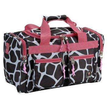 Rockland Luggage Pink Giraffe 19 in. Duffel Bag