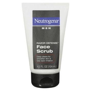 Neutrogena Razor Defense Face Scrub for Men - 4.2 oz