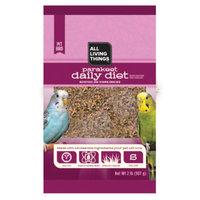 All Living ThingsA Parakeet Daily Diet